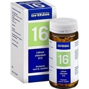 BIOCHEMIE Orthim 16 Lithium chloratum D 12 Tabl.