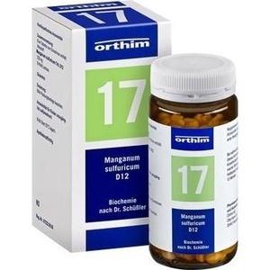 Biochemie Orthim Nr.17 Manganum Sulfuricum D12 Tabletten