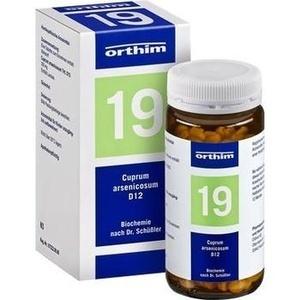 BIOCHEMIE Orthim 19 Cuprum arsenicosum D 12 Tabl.
