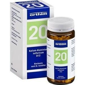 Biochemie Orthim Nr.20 Kalium Alumin.sulfuri.d12 Tabletten