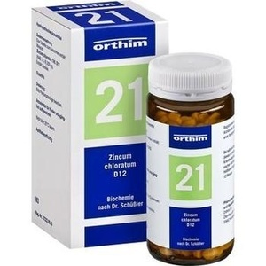 Biochemie Orthim Nr.21 Zincum Chloratum D12 Tabletten