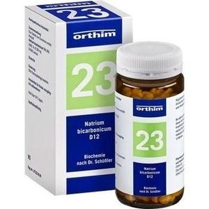 Biochemie Orthim Nr.23 Natrium Bicarbonicum D12 Tabletten