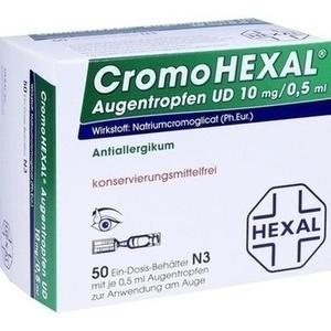 CromoHEXAL® UD EDP 0,5 ml Augentropfen