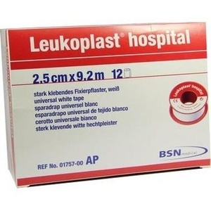 LEUKOPLAST Hospital 2,5 cmx9,2 m
