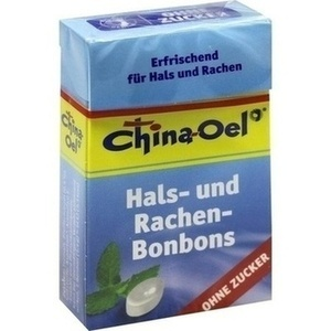 CHINA ÖL Hals- u.Hustenbonbons o.Zucker