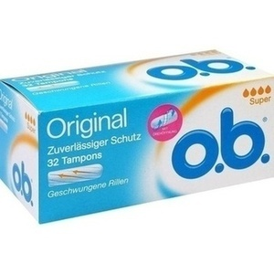 O.B. Tampons super