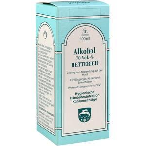 ALKOHOL 70% V/V Hetterich