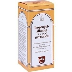 ISOPROPYLALKOHOL 70% V/V Hetterich