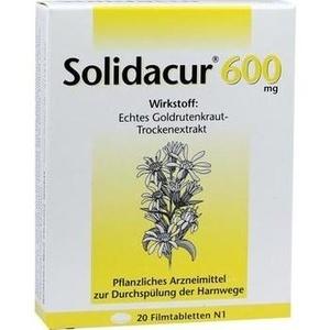 SOLIDACUR 600 mg Filmtabletten