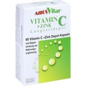 Abbildung von Vitamin C + Zink Depot Kapseln