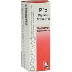 MIGRÄNE GASTREU M R 16 Tropfen zum Einnehmen