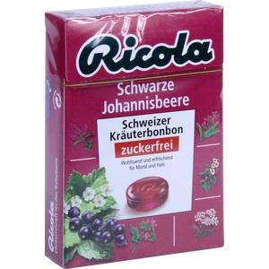 RICOLA o.Z.Box Schwarze Johannisbeere Bonbons