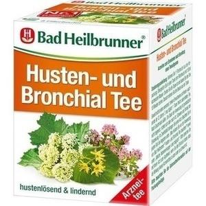 BAD HEILBRUNNER Tee Husten und Bronchial N Beutel