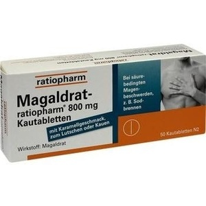 MAGALDRAT-ratiopharm 800 mg Tabletten