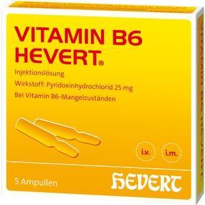 VITAMIN B6 Hevert Ampullen (PZN: 04897820)