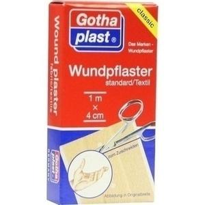 GOTHAPLAST Wundpfl.stand. 4 cmx1 m geschnitten