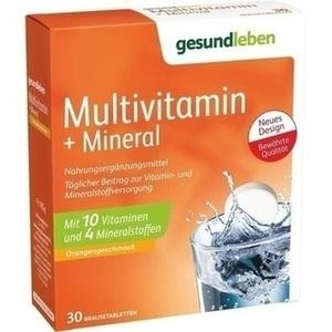 gesund leben Multi-Vitamin + Mineral Brausetabletten