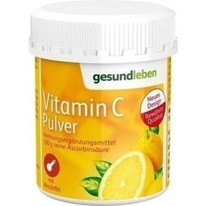gesund leben Vitamin C Pulver
