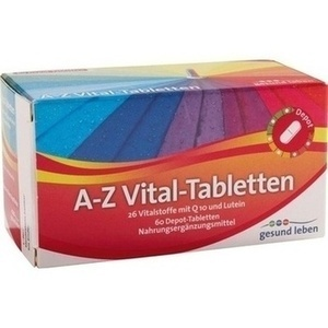 gesund leben A-Z Vital-Tabletten