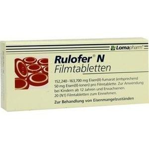 RULOFER N Filmtabletten