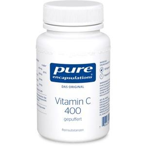 PURE ENCAPSULATIONS Vitamin C 400 gepuffert Kaps.