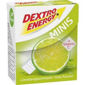 DEXTRO ENERGY minis Limette Täfelchen