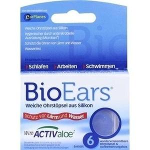 BIOEARS Silikon Ohrstöpsel antimikrobielle