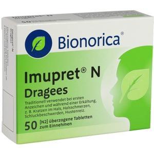Abbildung von Imupret N Dragees  Tabletten
