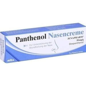 PANTHENOL Nasencreme Jenapharm