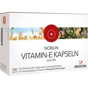 NOBILIN Vitamin E Natur SN Kapseln