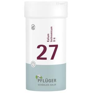 BIOCHEMIE Pflüger 27 Kalium bichromicum D 6 Tabl.