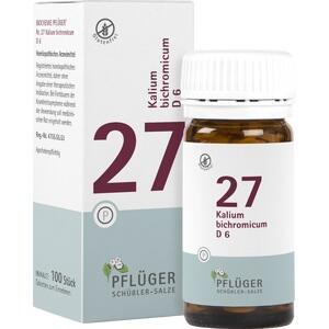 Biochemie Pflüger Nr. 27 Kalium Bichromicum D6 Tabletten