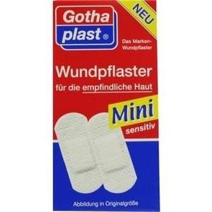 GOTHAPLAST Wundpfl.Mini sensitiv 4x1,7cm