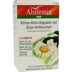 ALSIFEMIN 100 Klima-Aktiv m.Soja 1x1 Kapseln