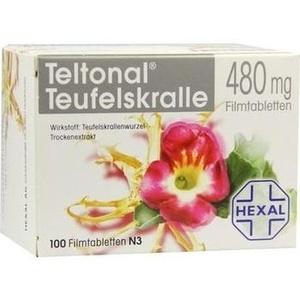 Teltonal Teufelskralle 480 mg Filmtabletten