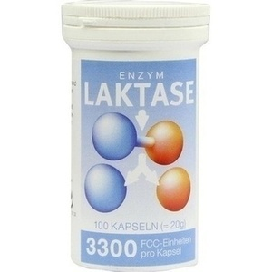 LAKTASE 3.300 FCC Enzym Kapseln