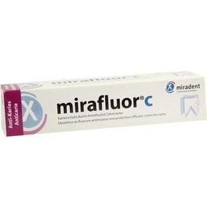 MIRADENT Zahncreme mirafluor C
