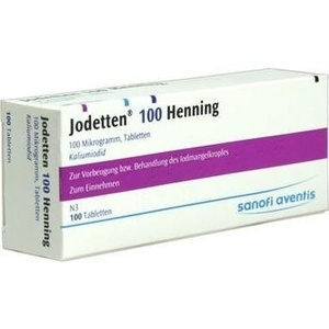 JODETTEN 100 Henning Tabletten