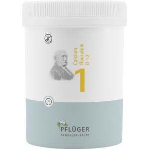 BIOCHEMIE Pflüger 1 Calcium fluor.D 12 Tabl., 1000St
