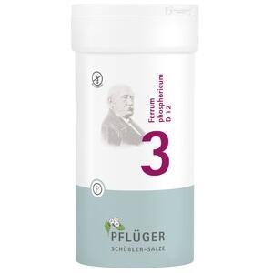 BIOCHEMIE Pflüger 3 Ferrum phosph.D 12 Tabletten