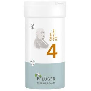 BIOCHEMIE Pflüger 4 Kalium chlorat.D 6 Tabletten