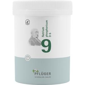 BIOCHEMIE Pflüger 9 Natrium phosphoricum D 6 Tabl.