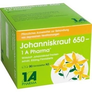 JOHANNISKRAUT 650-1A Pharma Filmtabletten