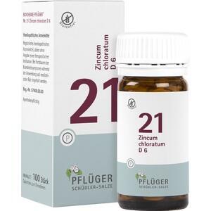 Biochemie Pflüger Nr. 21 Zincum Chloratum D6 Tabletten