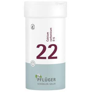 BIOCHEMIE Pflüger 22 Calcium carbonic.D 6 Tabl.