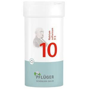 Biochemie Pflüger Nr. 10 Natrium Sulfuricum D6 Pulver