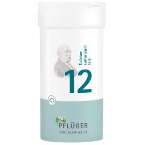 BIOCHEMIE Pflüger 12 Calcium sulfuricum D 6 Pulver