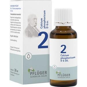 BIOCHEMIE Pflüger 2 Calcium phosphoricum D 6 Tro.