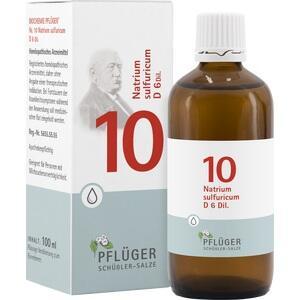 Biochemie Pflüger Nr. 10 Natrium Sulfuricum D6 Tropfen