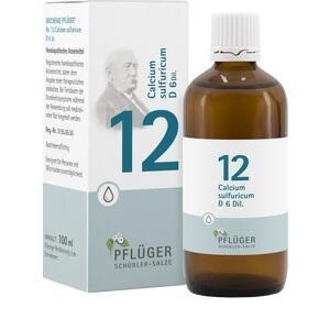 Biochemie Pflüger Nr. 12 Calcium Sulfuricum D6 Tropfen